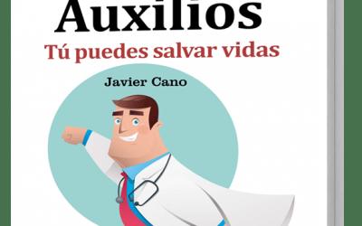 Javier Cano y su GuíaBurros Primeros Auxilios en Colaborum