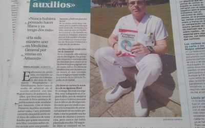 La Tribuna de Albacete entrevista a Javier Cano, autor del GuíaBurros: Primeros auxilios
