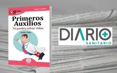 Diario Sanitario hace eco del «GuíaBurros: Primeros Auxilios»