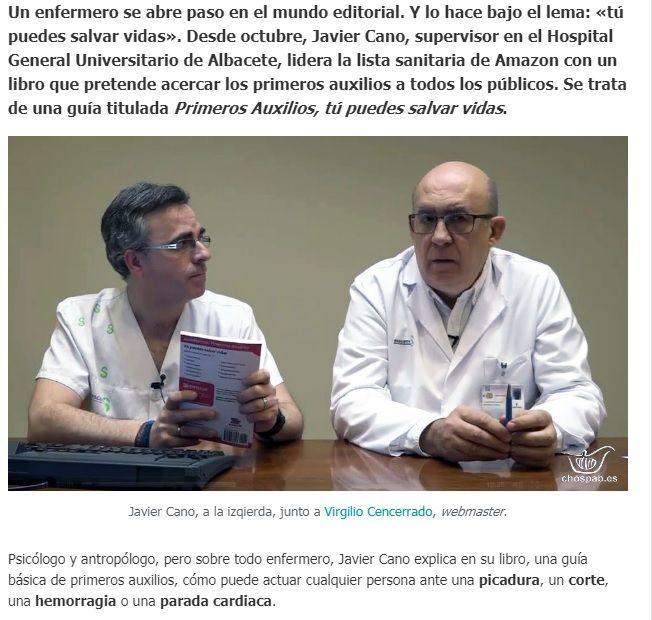 GuíaBurros: Primeros Auxilios en Diario Sanitario